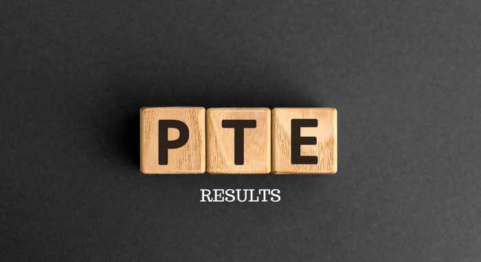نمره دهی آزمون PTE